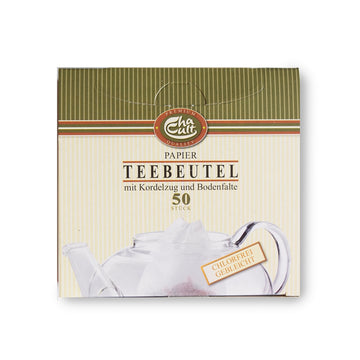 Paper Tea Filter 50 Count - With Strings