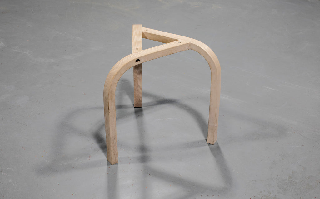 In the making: K-Stack stool