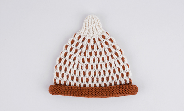 Brown Scot Knit Hat