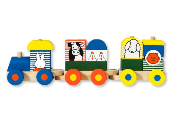 Miffy Wooden Train