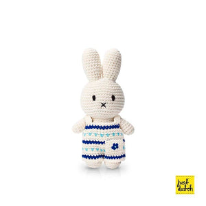 miffy  handmade and her new delfts blue overall (65th anniversary special edition)