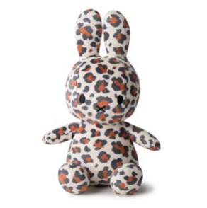 Miffy Sitting All Over Leopard Print