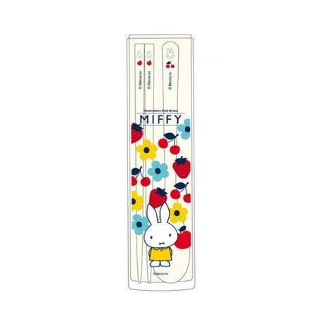 Miffy Chopstick Spoon Set Fruit