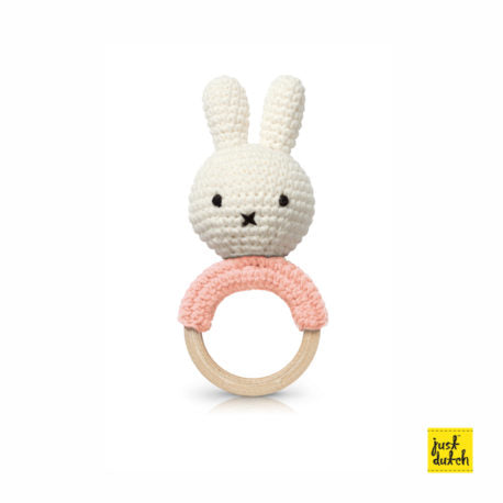 miffy handmade teether, Pink + Music