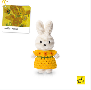 Miffy handmade and her new sunflower dress