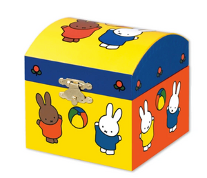 Miffy jewellery music box play ball