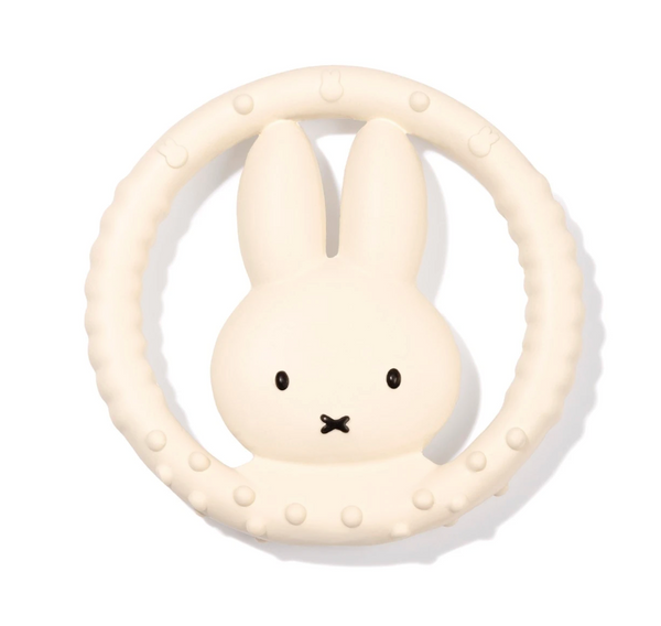 miffy biderangle in natural rubber, round