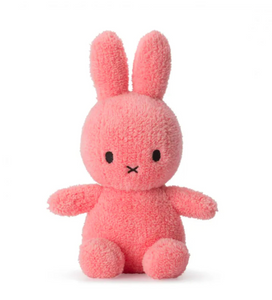 Miffy Sitting Terry Soft Toy Pink
