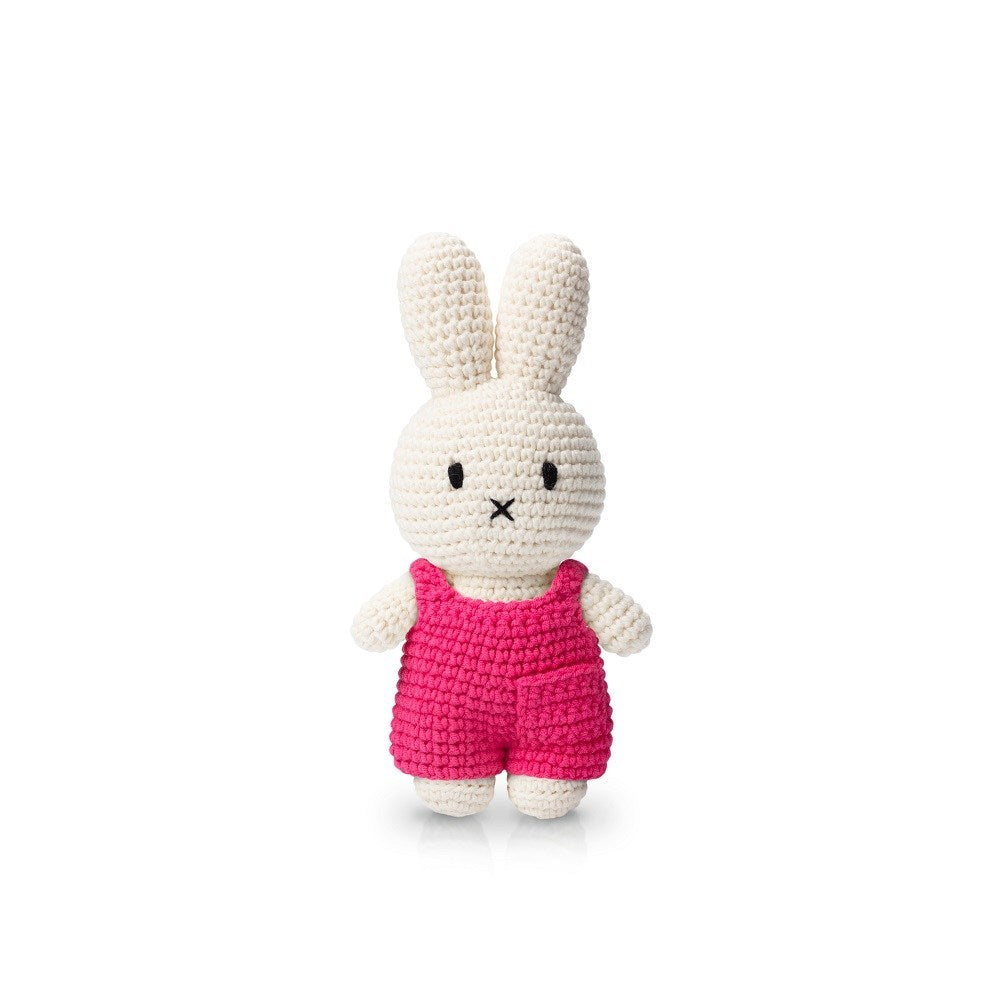 miffy handmade and her pink overall