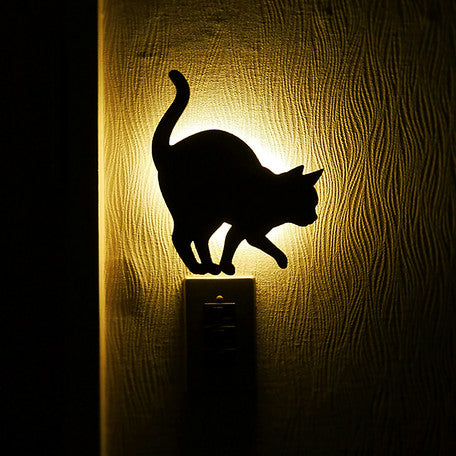 Cat Wall Light