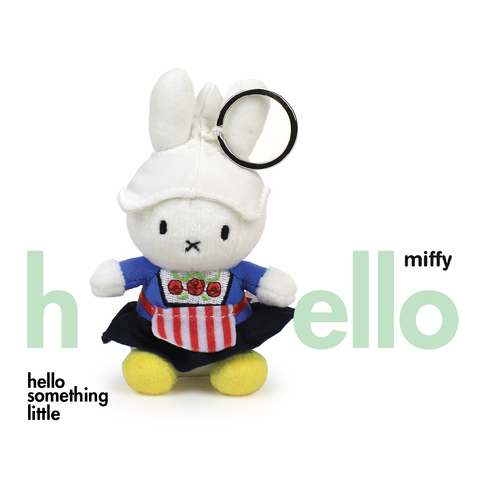 Miffy Farmers Wife Keychain