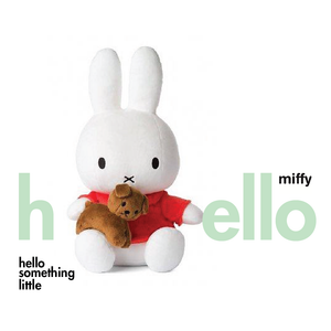 Miffy with snuffie the dog - Great