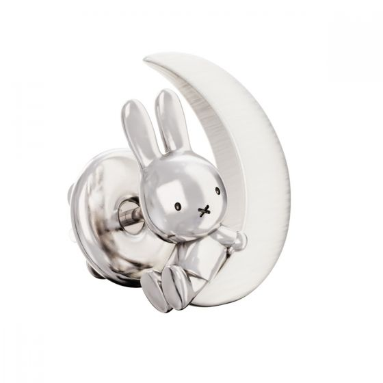 MIFFY & THE MOON STERLING SILVER PIN BROOCH