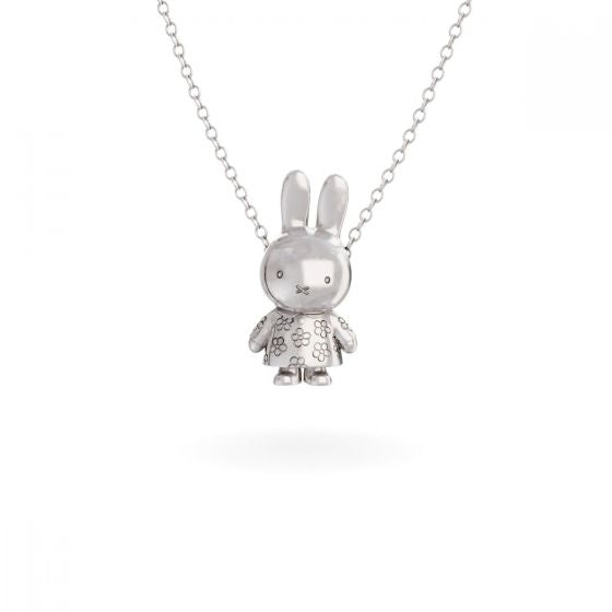 MIFFY - STERLING SILVER FLOWER BODY NECKLACE