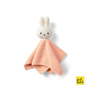 Miffy handmade wipe, pastel pink and blue