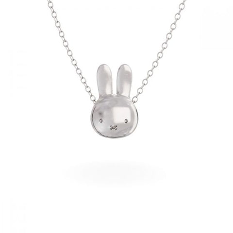 MIFFY - STERLING SILVER LARGE HEAD NECKLACE