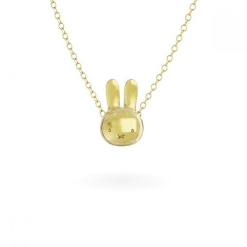 預購(九月底到貨) MIFFY - 18CT GOLD VERMEIL MEDIUM HEAD NECKLACE