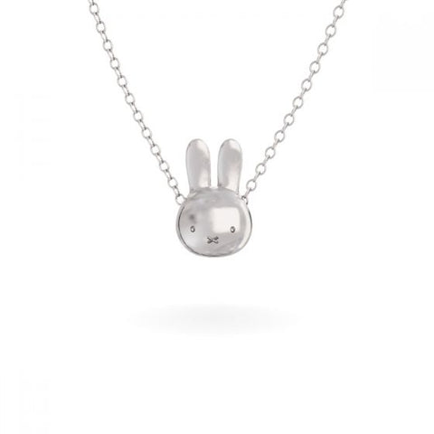 MIFFY - STERLING SILVER MEDIUM HEAD NECKLACE
