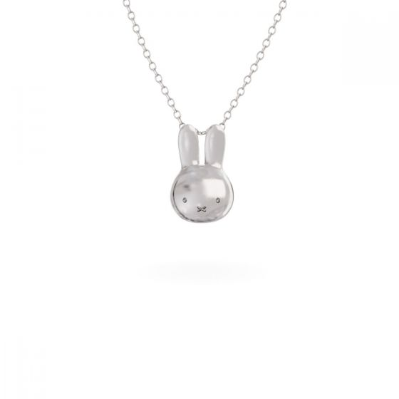 預購(九月底到貨)MIFFY - STERLING SILVER MINI HEAD NECKLACE