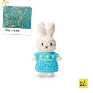 Miffy handmade and her new van Gogh almond blossom dress