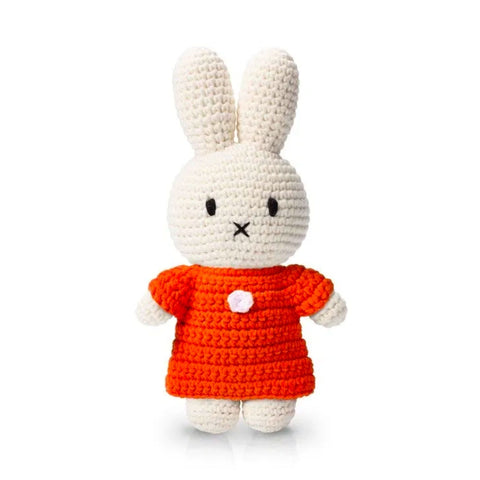 Miffy handmade and her orange dress