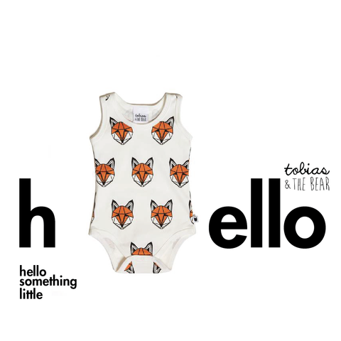 just call me fox sleeveless romper