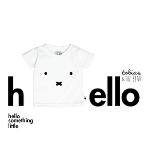 miffy face tee - white