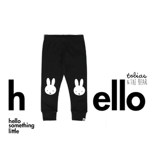 miffy portrait leggings - black