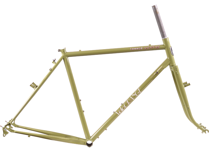 Velo Orange Camargue Framset for Touring and Commuting