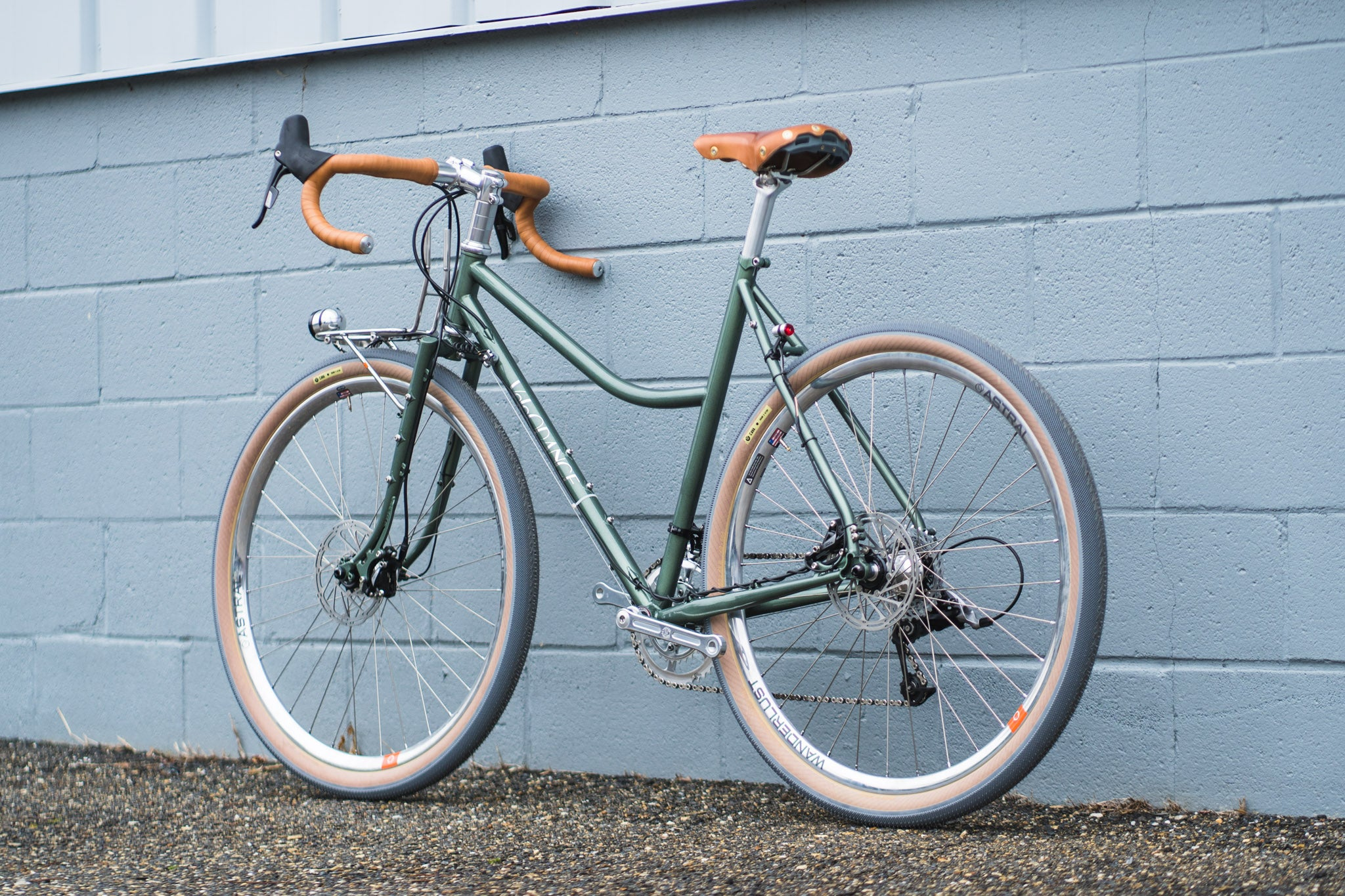 Melissa's Sport Touring Low Kicker Polyvalent with Dynamo Lighting and Astral Wanderlust Rims