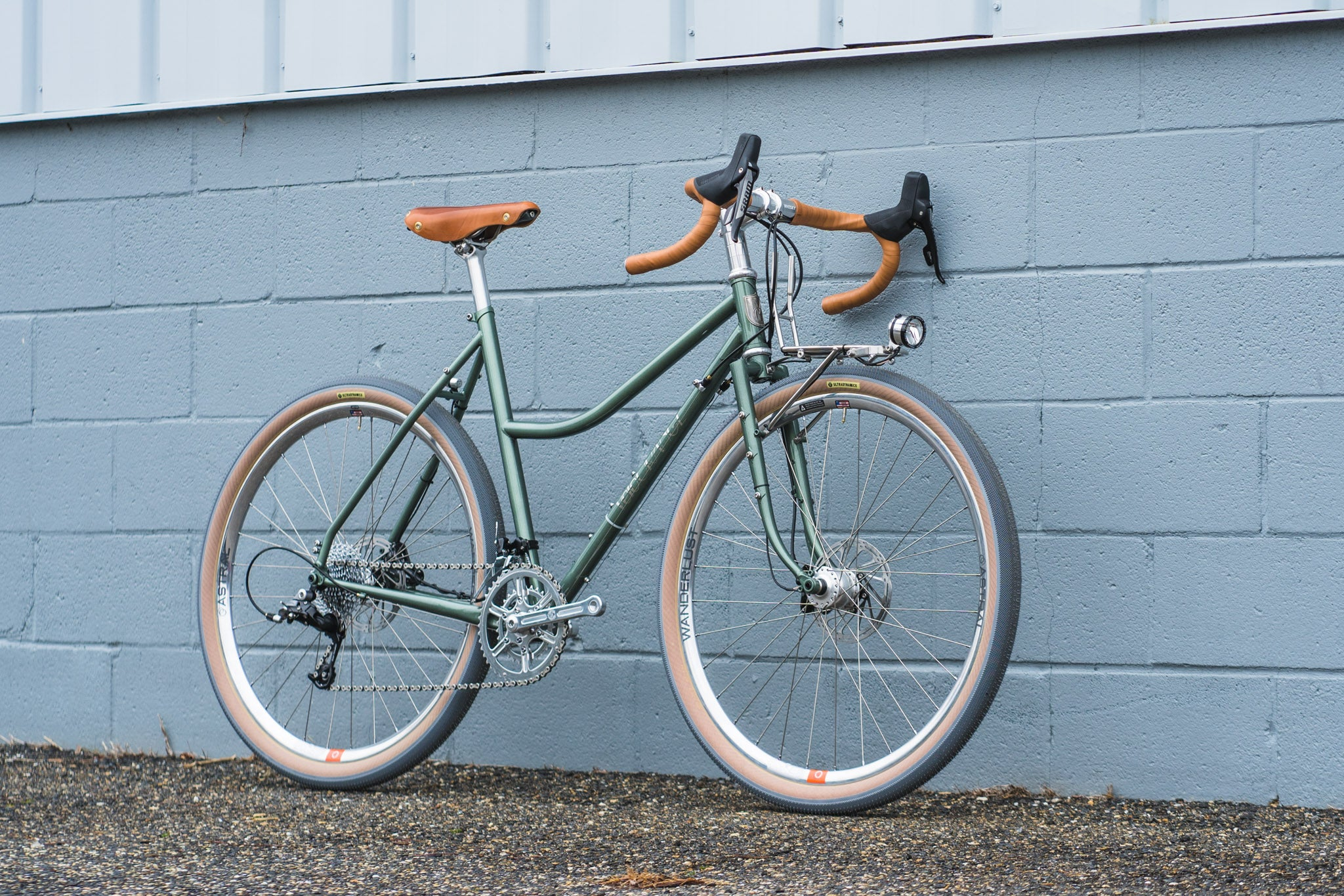 Melissa's Sport Touring Low Kicker with Dynamo Lighting and Astral Wanderlust Rims