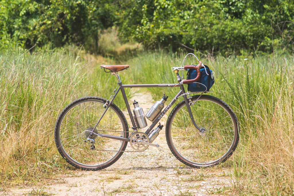 Velo Orange Campeur with SimWorks Homage Tires for Bicycle Nomad