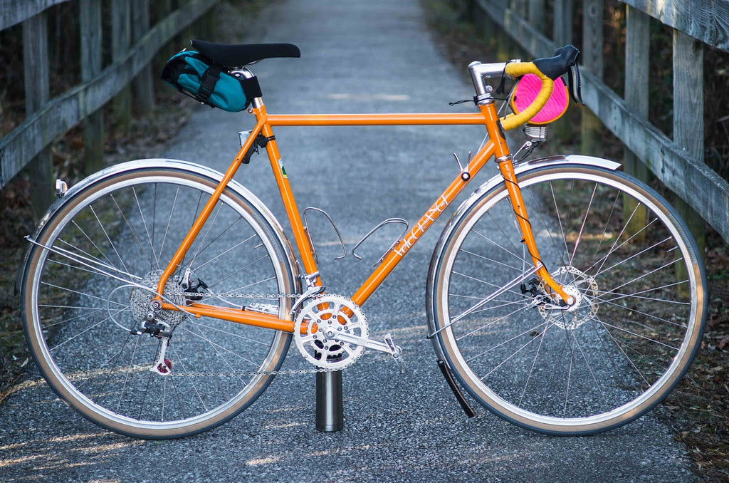 Velo Orange Pass Hunter in Winter Road Bike Mode - Bike Build Ideas