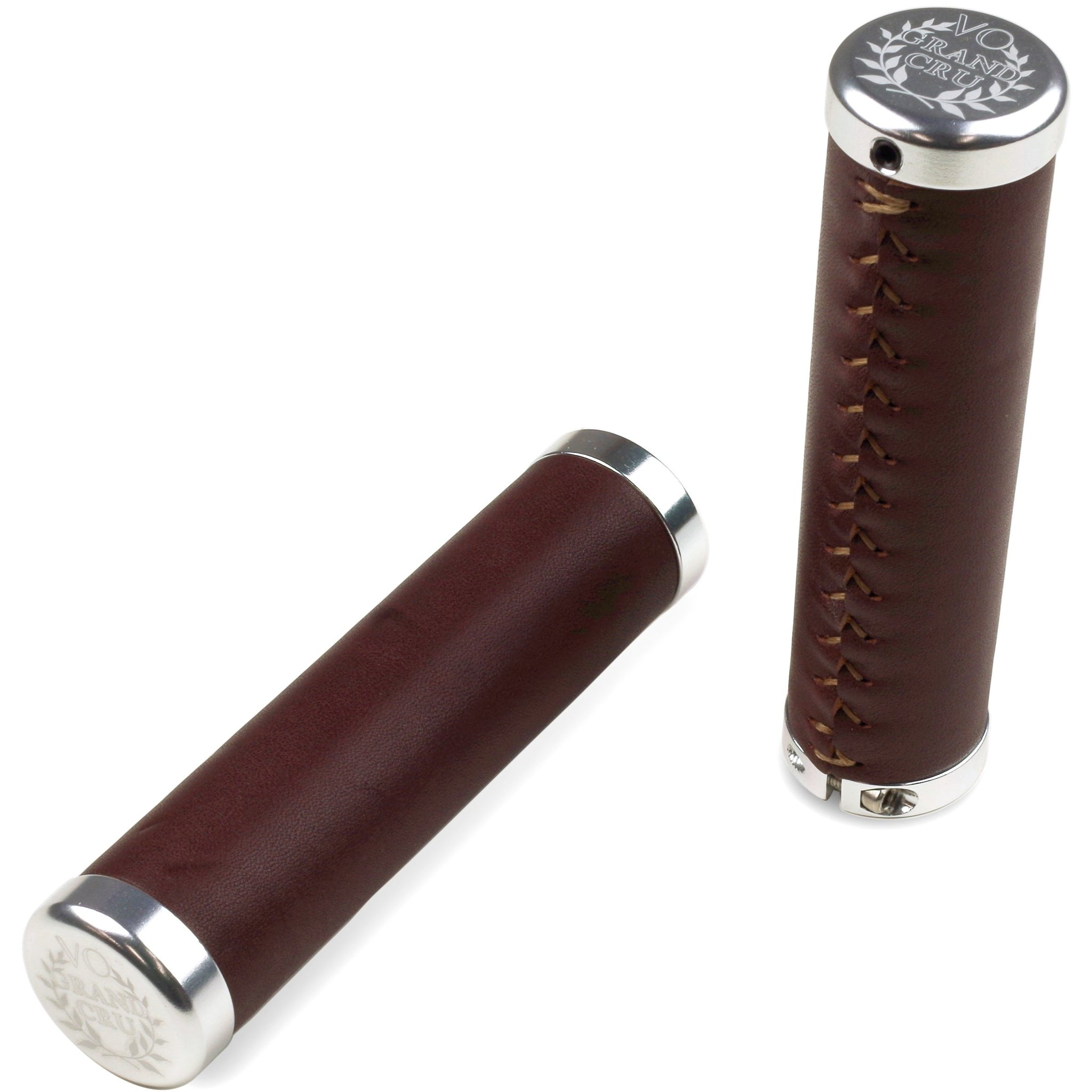 Lock-on Leather Grips