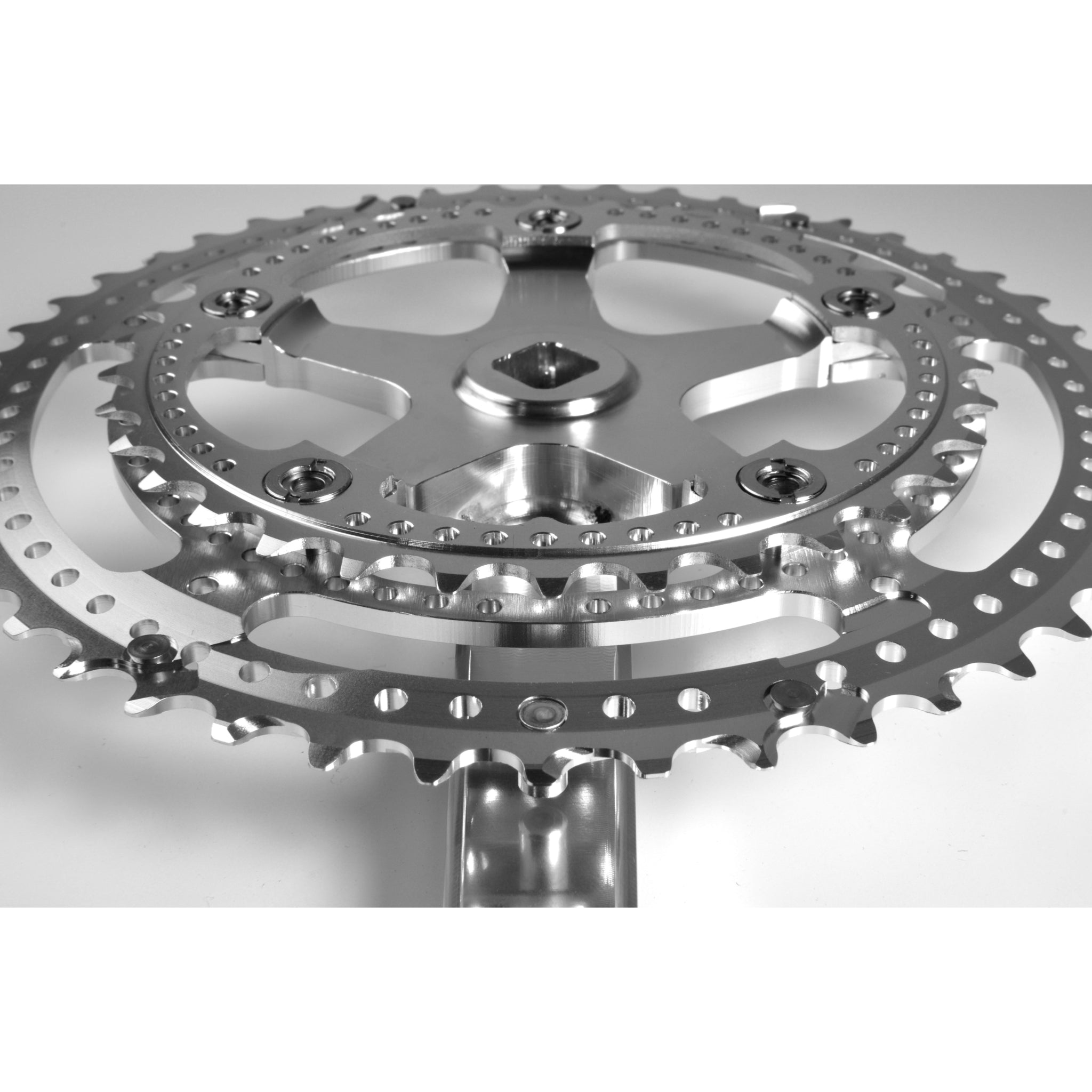 Grand Cru Drillium 110 Fluted Double Crankset