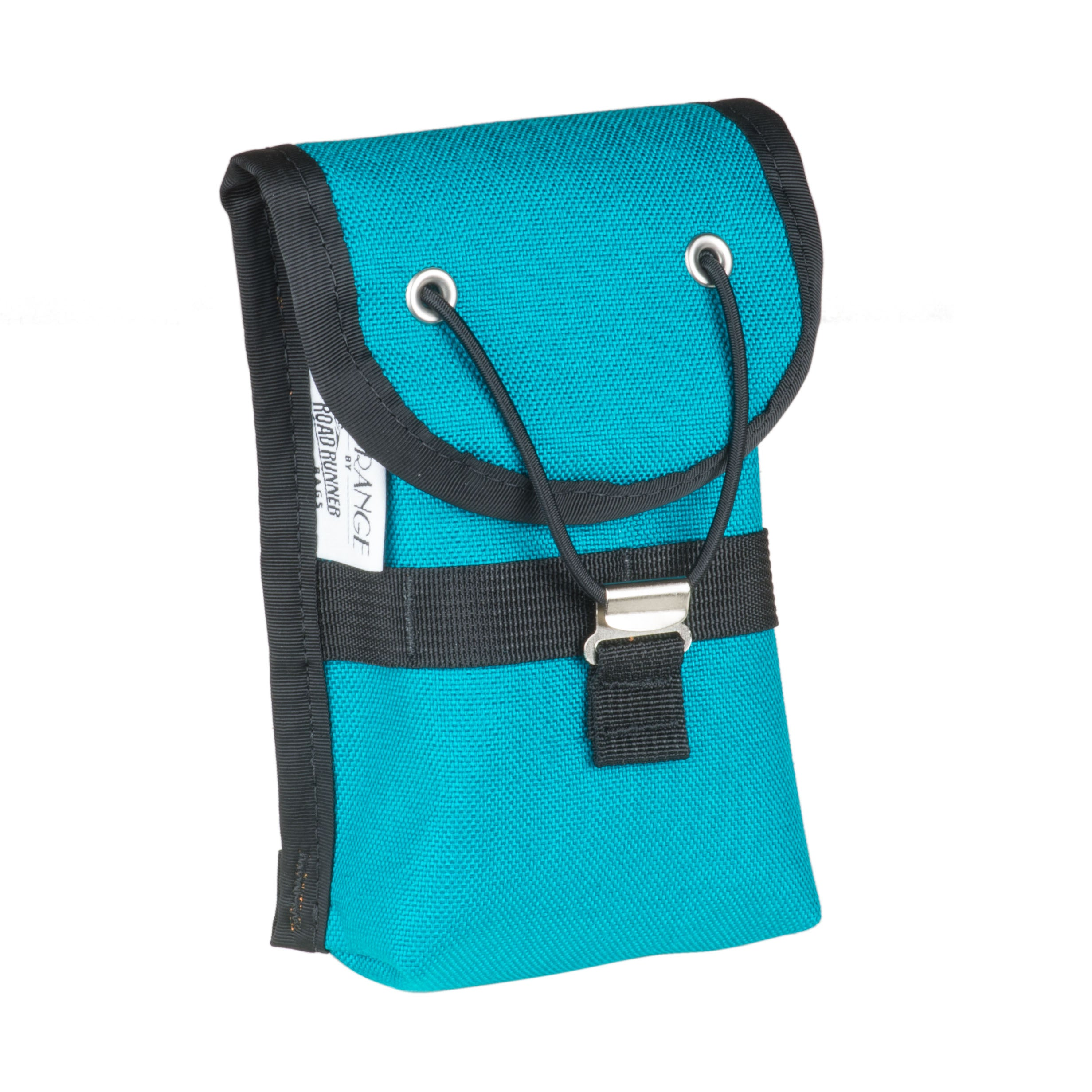 Cell Phone Pocket for Randonneur Handlebar Bag, Teal