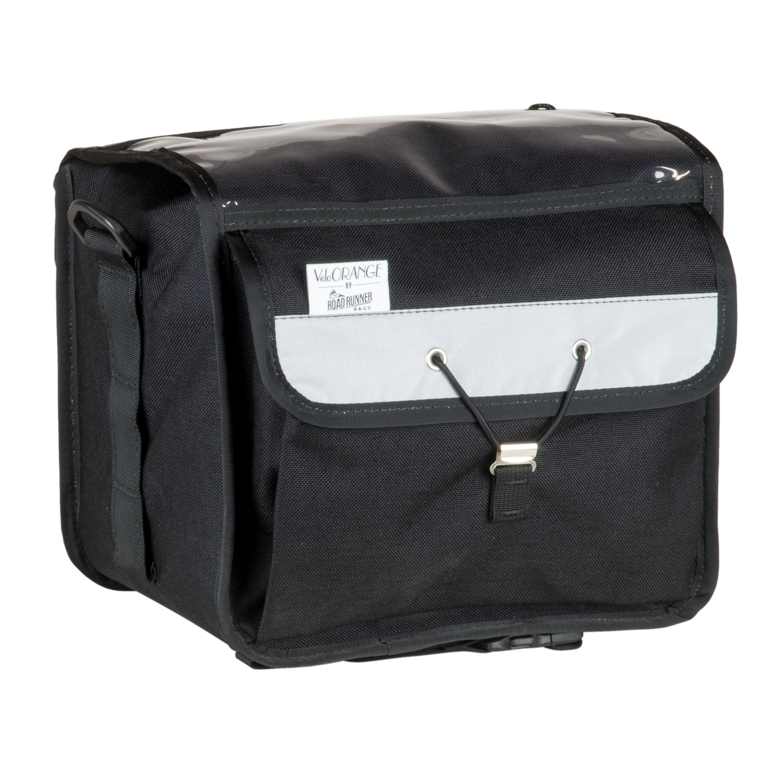 Velo Orange Randonneur Handlebar Bag, Black