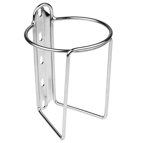Velo Orange Mojave Bottle Cage Polished Silver for Nalgene