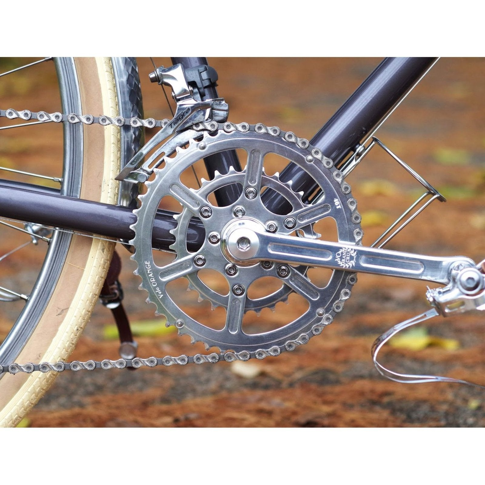 Velo Orange Grand Cru 50.4 Crankset 46/30 tooth chainrings