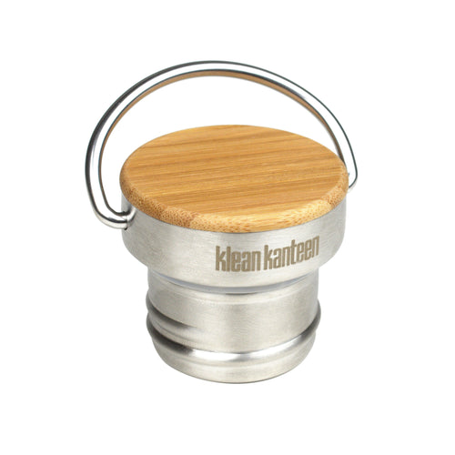 Bamboo Top For Klean Kanteen Water Bottle