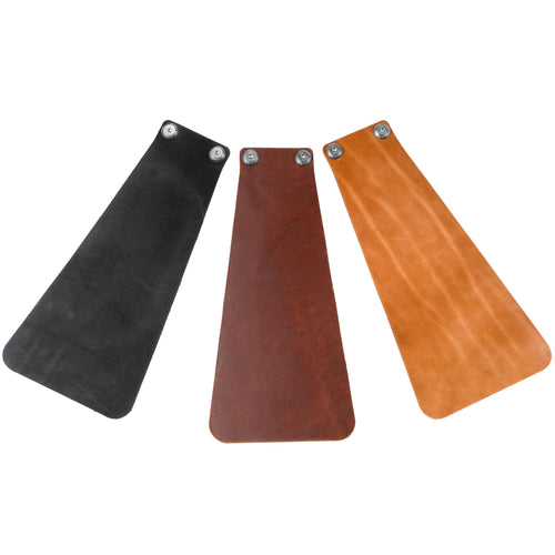 Long Leather Mud Flaps