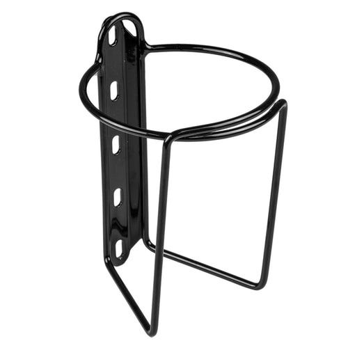 Velo Orange Mojave Bottle Cage in Smooth Noir Black for Nalgene