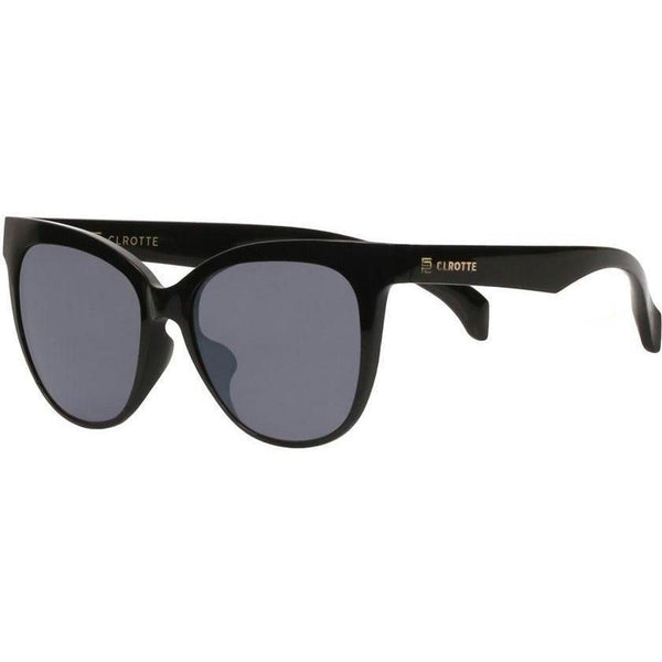 Black cat eye sunglasses view 2