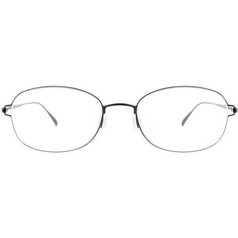 Small and thin framed oval  metal glasses view 1