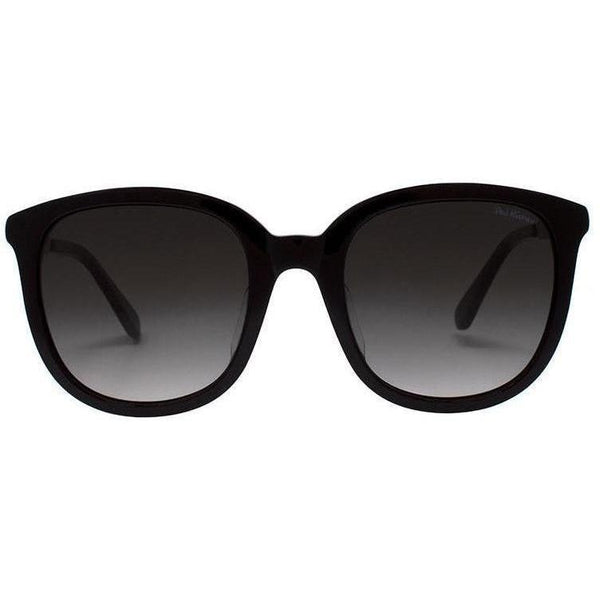 Over sized black square sunglasses with transitional lenses view 1