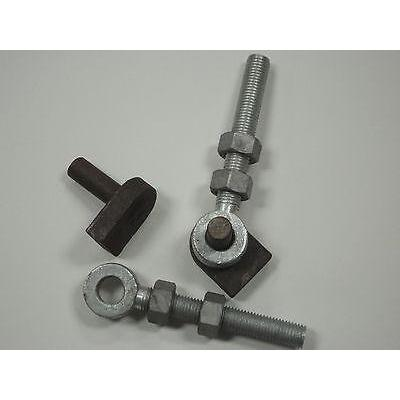 "Gate Hinge Pins 3/4""(19mm) - 150mm Eyebolts -