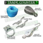 Washing Line Pulley Assortment | TTCWM