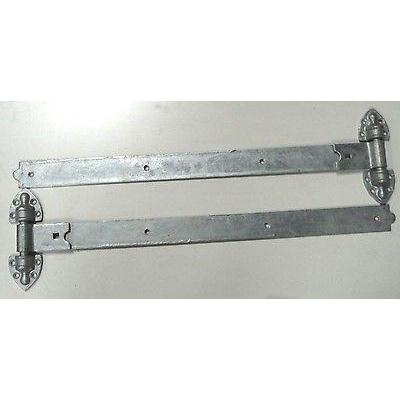"Gate Hinges - Reversible Heavy Duty 30"" -  Galv"