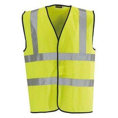 Hi Vis Vest -  Yellow EN471 Single & Multi Pack