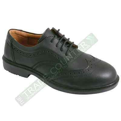 Safety Shoes  - Leather Brogues - Click